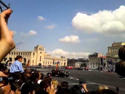 Военный парад в честь Дня независимости Армении