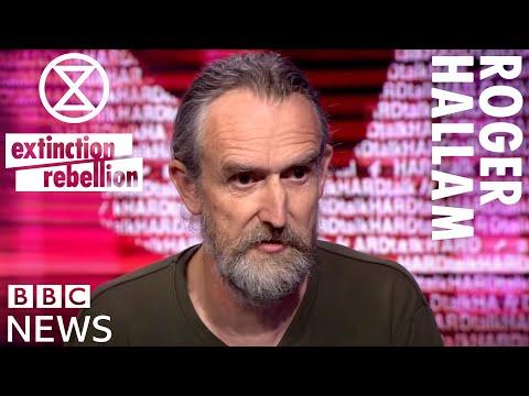 """Something Drastic Has To Happen"" Roger Hallam | BBC HardTalk | Extinction Rebellion"
