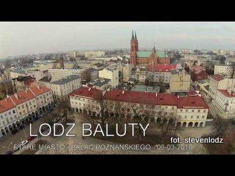 Łódź Bałuty - Panorama miasta z lotu ptaka - Dji Phantom