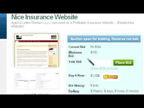 Insurance Quotes Website For Sale - GGIQ com