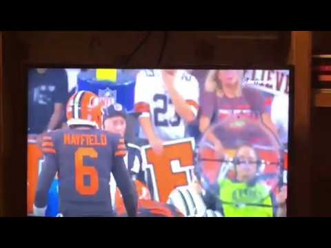 "Baker Mayfield Catches ""Cleveland Special"" To Help Browns Tie NY Jets"