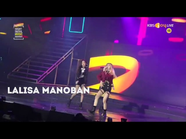 V AND LISA / TAELICE AT SMA | SAY YOU WON'T LET GO