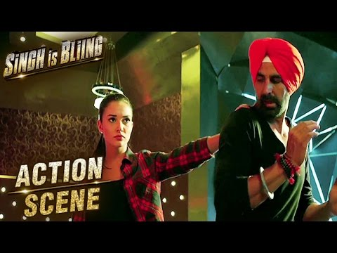 Akshay Kumar & Amy Jackson Fight Scene |...