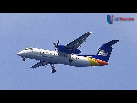 US Television - Barbados (Liat Airline)