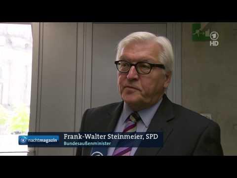 Die Wutrede von Frank-Walter Steinmeier im ARD-Nachtmagazin