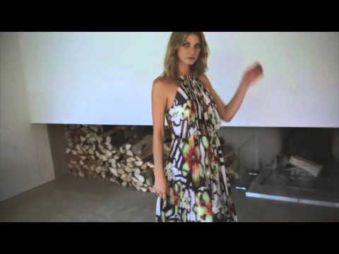 Karen Millen Spring | Summer 16: Angela Lindvall Video Diary