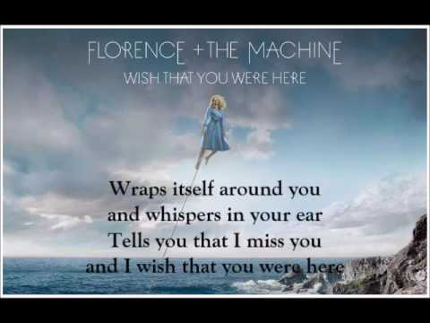 Guitar guitar tablature wish you were here : Florence + The Machine - Wish That You Were Here (Lyrics) - YouTube