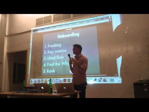 Startup Metrics Toronto December 2014 - Justin Mares on User Onboarding