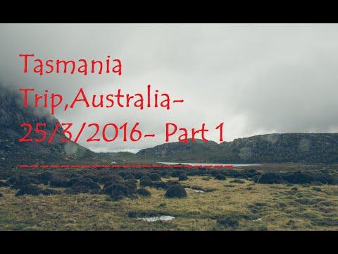 Tasmania, Australia Trip 25.3.2016 Part1. Abdul (Devonport, Gradle mountain)