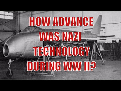 A Sobering Arsenal - How Advance Was German Technology in WWII?