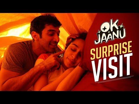 A surprise visit! | OK Jaanu | Aditya Roy...