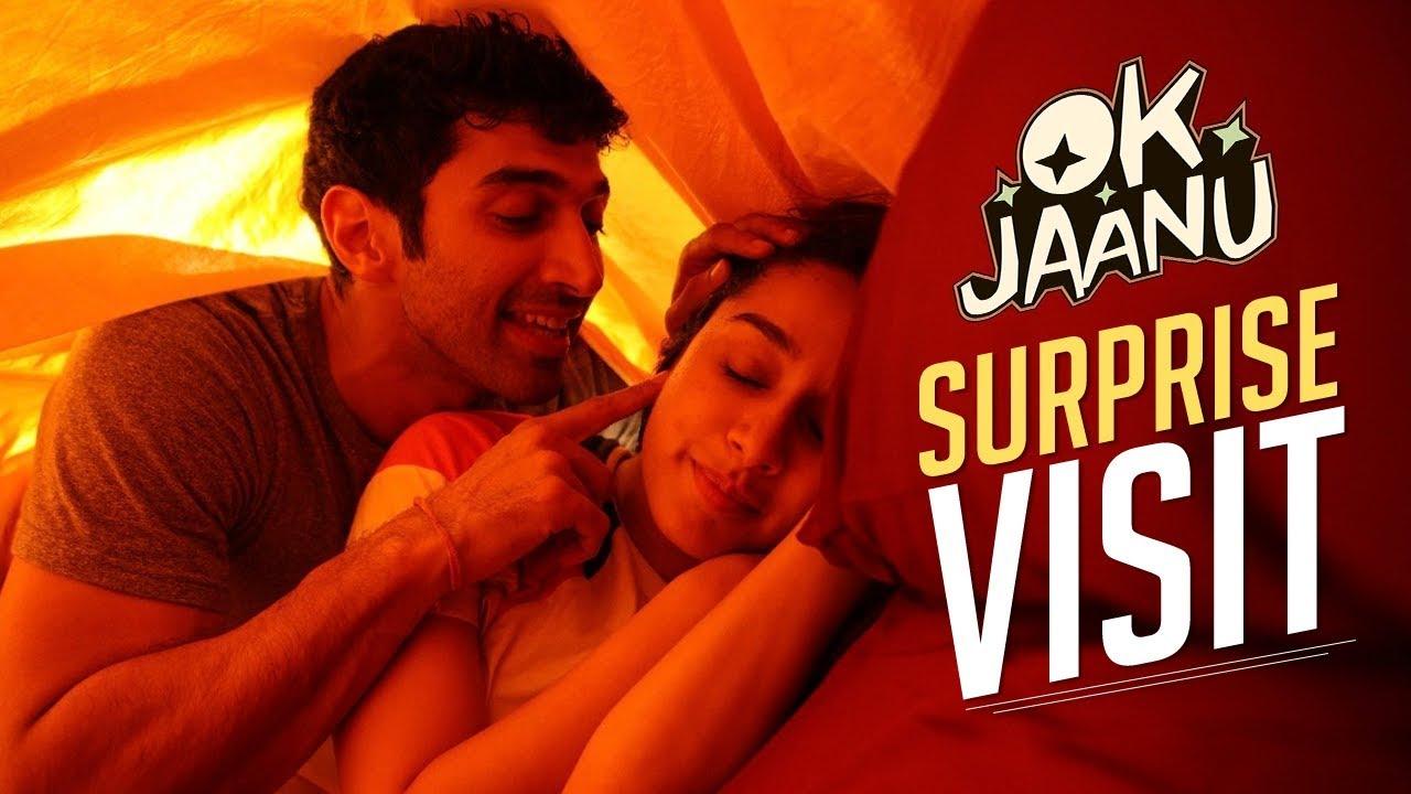 Download A surprise visit!   OK Jaanu   Aditya Roy Kapur   Shraddha Kapoor