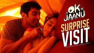 Video A surprise visit! | OK Jaanu | Aditya Roy Kapur | Shraddha Kapoor download MP3, 3GP, MP4, WEBM, AVI, FLV Agustus 2018