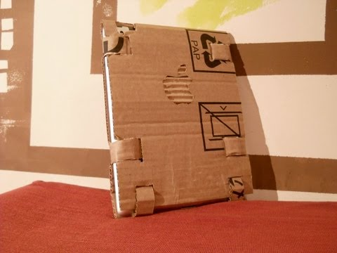 DIY: How to Create iPad Cases With Cardboard Box