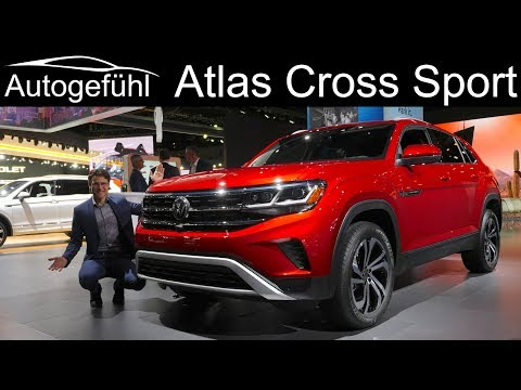 Volkswagen Atlas Cross Sport REVIEW Exterior Interior - Autogefühl