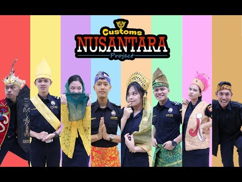 Cover Lagu [CUSTOMS NUSANTARA PROJECT 2017] MEDLEY LAGU DAERAH INDONESIA STAFABAND