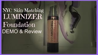 NYC Skin Matching Foundation Demo & Review!|thisis