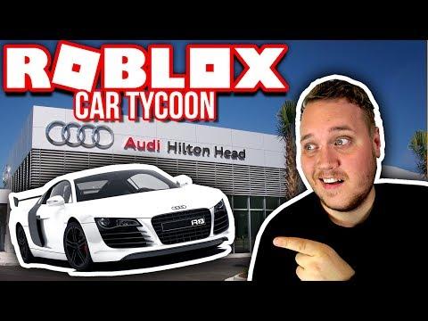 ÅBNEDE EN AUDI BUTIK! 🚗 :: Car Tycoon - Dansk Roblox