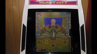 Nitro Ball Arcade Gameplay Sample 1cc