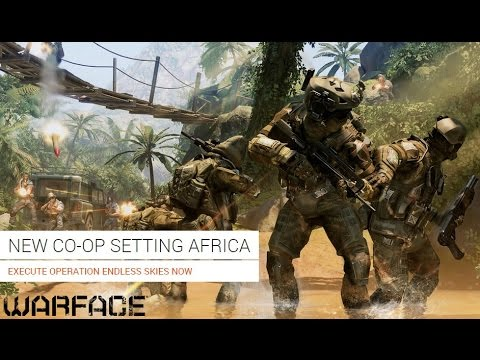 WarFace CO-OP AFRICA ENDLESS SKIES MISSION - ULTRA SETTINGS on Alienware Alpha 3XP Weekend