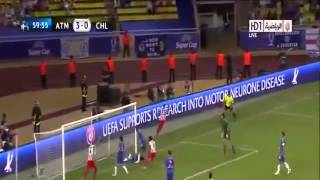 Goles Atletico Madrid vs Chelsea & Highlights HD Supercopa de Europa 2012