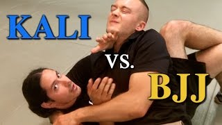 Kali Counters Brazilian Jiu Jitsu - Filipino Martial Arts Vs BJJ