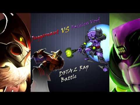 видео: Рэп батл dota 2 - juggernaut vs faceless void