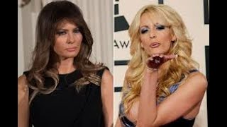"""First Lady Melania Trump calls Stormy Daniels """"Porn Hooker"""", Stormy responds on Twitter!"""