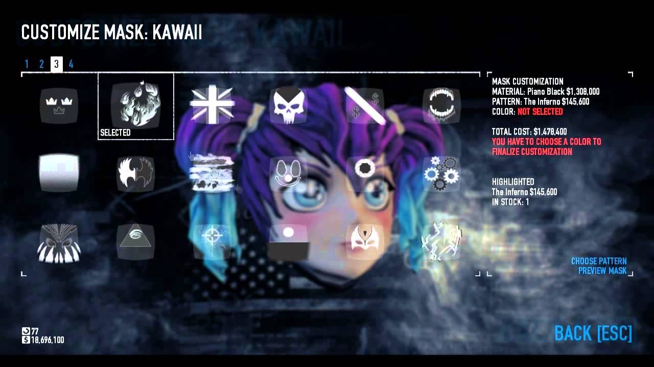 Payday Porn showing porn images for kawaii mask payday 2 porn | www