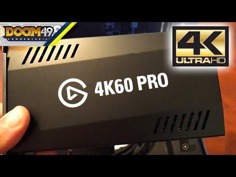 Elgato 4K60 PRO Gaming Setup