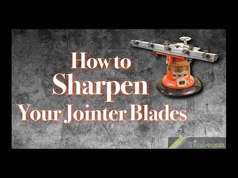 How to Sharpen Your Jointer Blades
