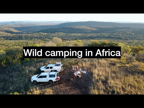 Wild Camping In Remote Africa