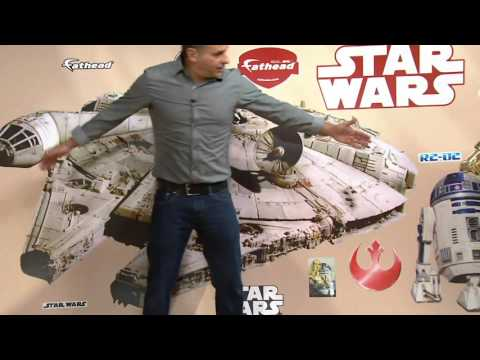 Star Wars FatHead Big And Junior Wall Decal Combo Pack On QVC