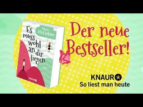 Es muss wohl an dir liegen YouTube Hörbuch Trailer auf Deutsch