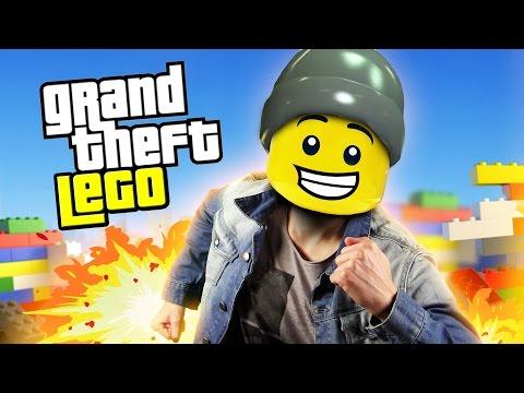 GRAND THEFT LEGO !! (Lego city)