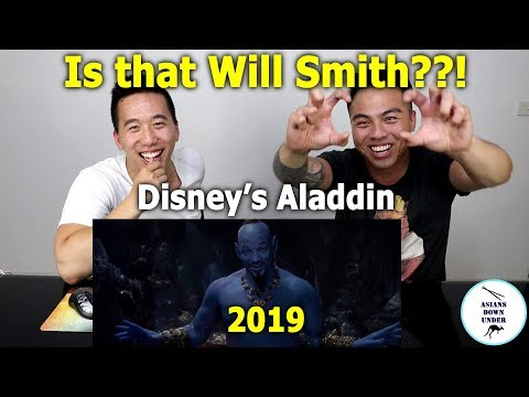 Disneys Aladdin - Special Look  In Theaters May 24 | Asians Down Under Reaction