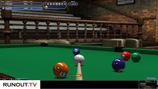 Virtual Pool 4 Online | Mal255 vs Dillinger | Race to 5