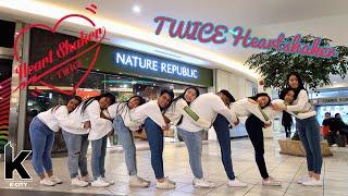 "[KPOP IN PUBLIC VANCOUVER] TWICE (트와이스): ""Heart Shaker"" Dance Cover [K-CITY x LEG4CY x Danica]"