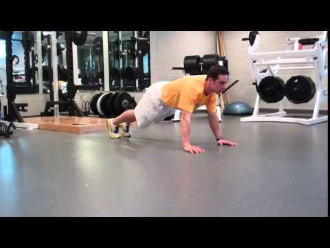 Pushup: 3D Performance Training