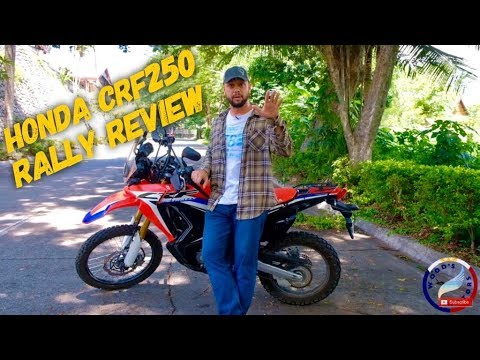 Honda CRF 250 Rally Review - Best 2017 Honda CRF250 Rally Road Test