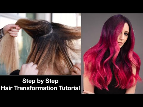 Hair Color Correction Tutorial