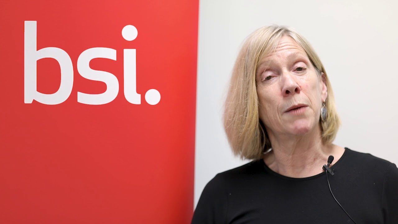 Christine Heemskerk - Chair of BSI Consumer & Public Interest Network