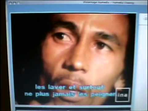 *Unseen Footage* Bob Marley talks about his Hair