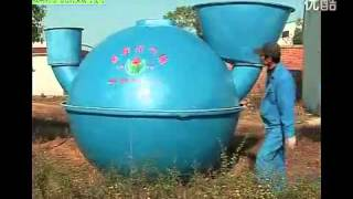 Биогазовый реактор из стеклопластика(, 2015-09-14T12:14:43.000Z)