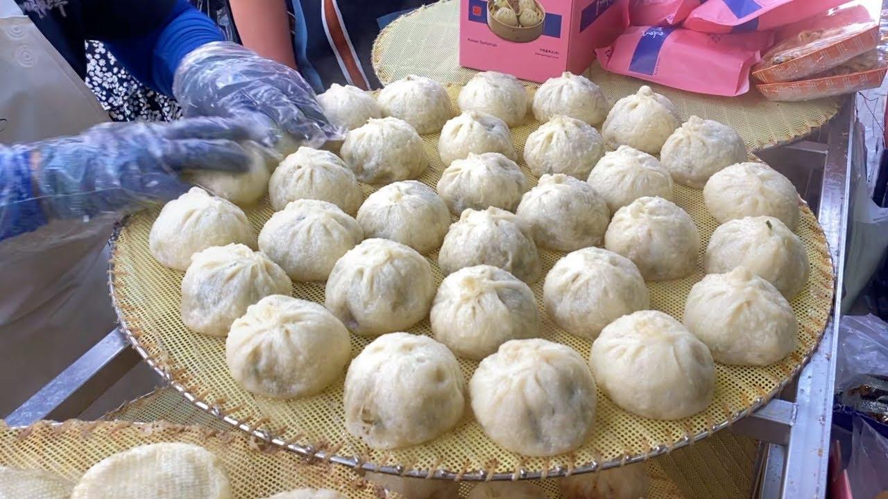 남대문 가메골 손만두, 하루 9천개 팔리는 대박집! Handmade dumplings / Korean street food