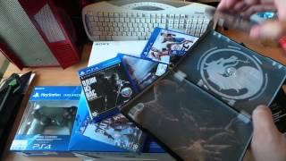 -sia-  обзор распаковка SONY PS4 1 TB