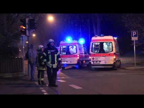 Schwerer Unfall in Heidenheim: Mini Cooper gegen Van