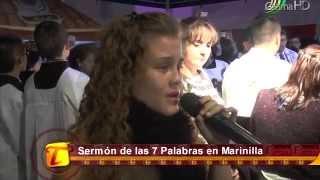 Verónica Higuita y su voz angelical en el sermón de las 7 Palabras en Marinilla