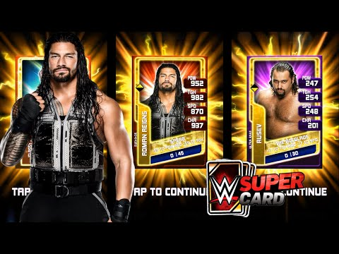 WWE SuperCard Gameplay Ep.24: Survivor Fusion Roman Reigns!