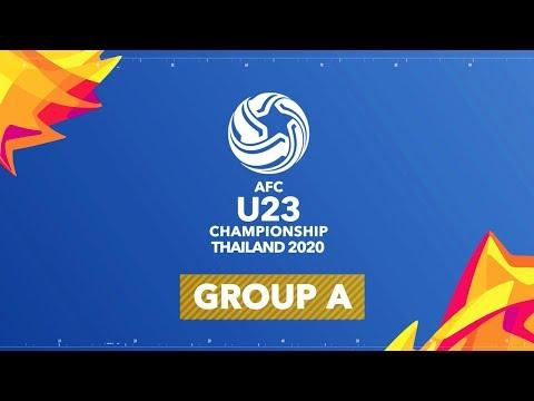 #AFCU23 -  GROUP A (THAILAND, IRAQ, AUSTRALIA, BAHRAIN)